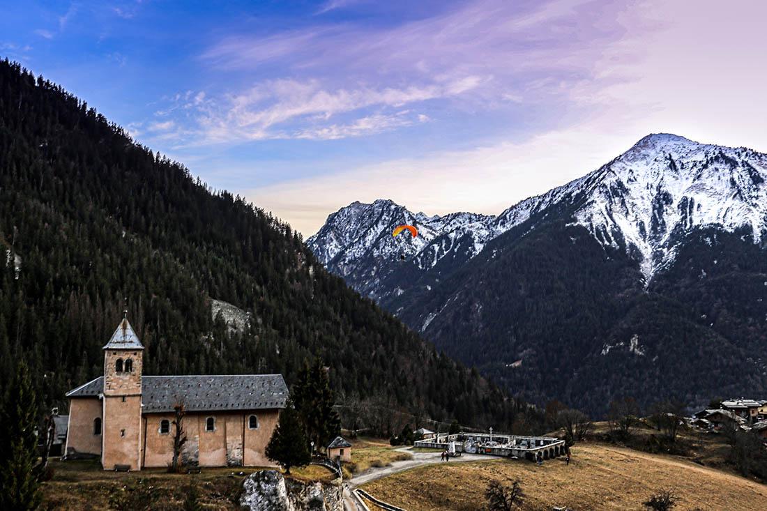 Photographie Coucher de soleil en Montagne