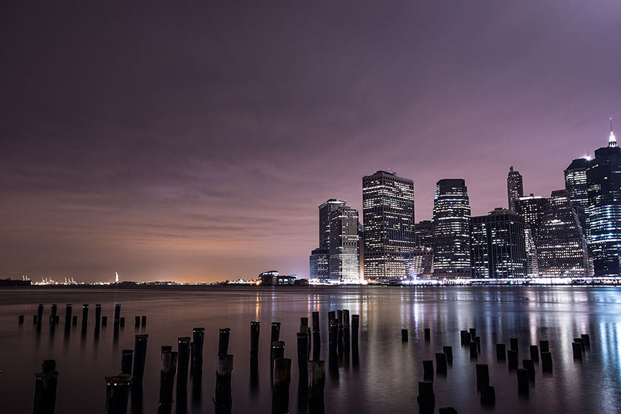 Photographies de nuit de New York